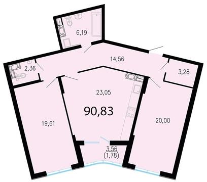 11 387 230 Руб., Продам 2к. квартиру. Жукова ул. к.2.3, Купить квартиру в Санкт-Петербурге по недорогой цене, ID объекта - 318417073 - Фото 1
