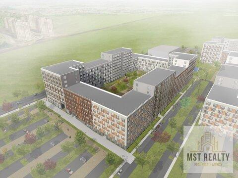 Однокомнатная квартира в новом жилом комплексе города Видное - Фото 2