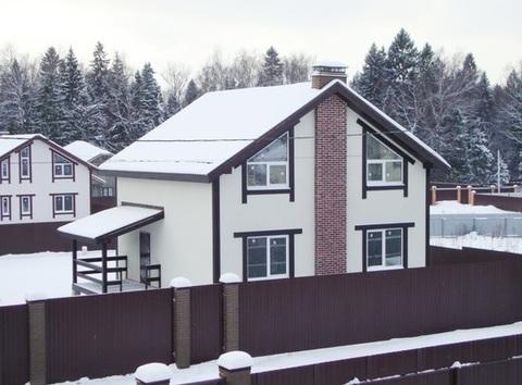 Продаётся новый дом 155 кв.м с участком 7 сот. в пос. Подосинки - 3. - Фото 1