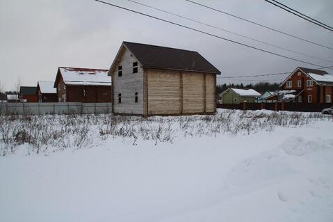 Недостроенный брусовой дом на участке 15 соток в ДПК Колосок - Фото 1