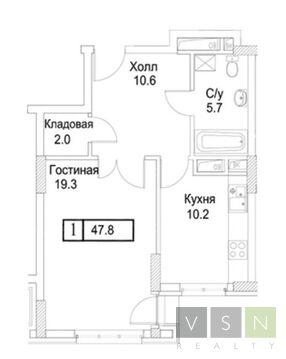 Продается квартира г.Москва, Погонный проезд - Фото 1