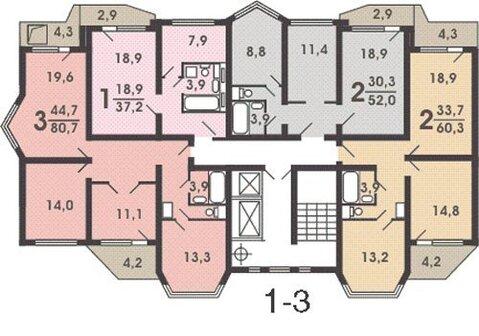 Продам 1-к квартиру, Москва г, Хованская улица 6 - Фото 2