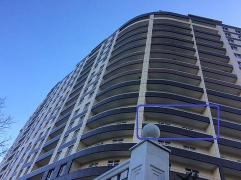 5 350 000 Руб., Продаётся 2 комнатная квартира в новом доме в Ялте с большим балконом., Купить квартиру в Ялте по недорогой цене, ID объекта - 324778525 - Фото 1