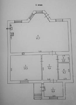 Продам 2х-этажный коттедж в с. Кораблино Рязанский р-н Рязанская обл. - Фото 1