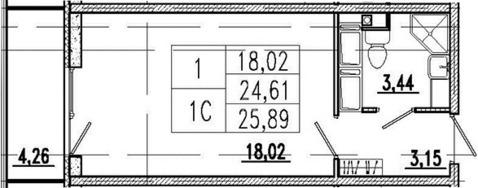 Продажа квартиры, Мурино, Всеволожский район, Графская ул. - Фото 1