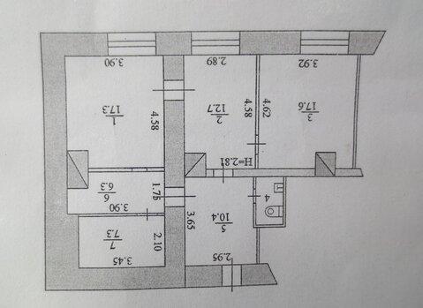 Продам псн, площадью 73.8 м2. в историческом центре г. Серпухов - Фото 3