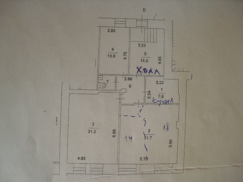 Офис, салон, гостиница, хостел 108 кв.м, 1 этаж, Новинский б-р, д.16с2 - Фото 5