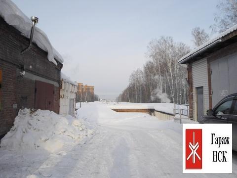 Сдается капитальный гараж большой площади, Академгородок, за ияф - Фото 2