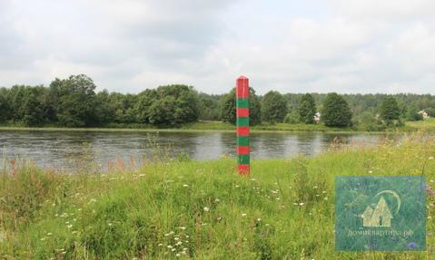 Участок у реки и соснового леса - Фото 2