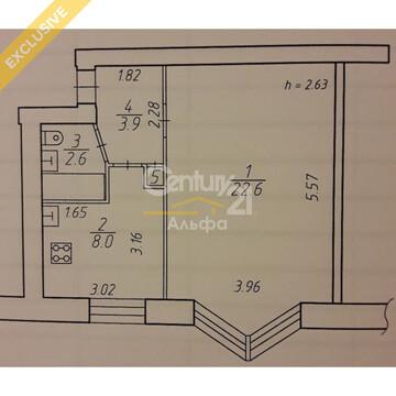 Продается просторная однокомнатная квартира по Октябрьскому пр, д .58 - Фото 4