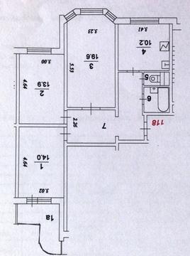 Продается 3-комн. квартира 74.4 м2 - Фото 3