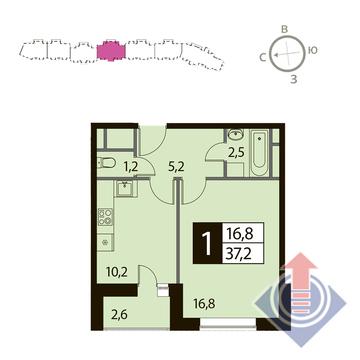 Продажа квартиры, Одинцово, Ул. Чистяковой - Фото 1