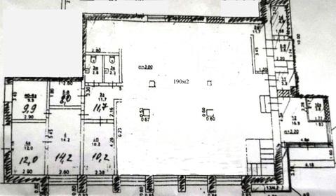 Сдам помещение 330кв.м. Центр 1 этаж/ фасад - Фото 1