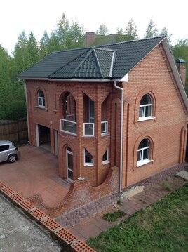 Продается кирпичный коттедж 625 кв.м. в 14 км от МКАД, д. Большаково - Фото 1