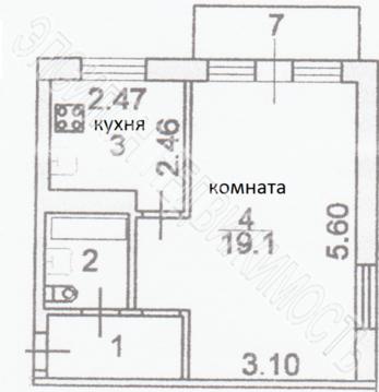 Продается 1-к Квартира ул. Менделеева - Фото 2