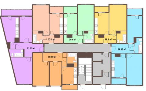 Квартира в ЖК Янтарный город! спешите купить до повышения цен! - Фото 2