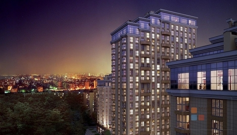 1-я квартира, 43.00 кв.м, 19/24 этаж, цмр, Красная ул, 4600000.06 . - Фото 2