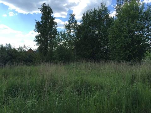 Продается участок 10 соток в деревне Руднево(ИЖС) московская прописка - Фото 2