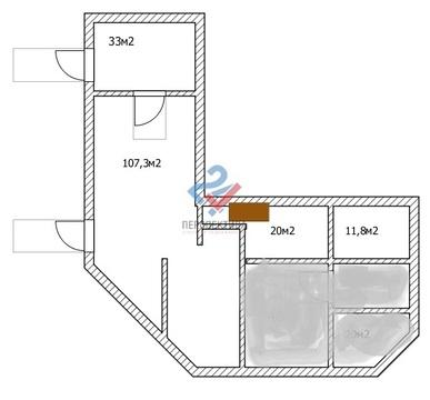 Продается помещение 172м2 в Деме на ул. Левитана 38/3 - Фото 3