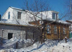 Рубленый дом с мансардой в живописном месте г. Усмань Липецкой области - Фото 1