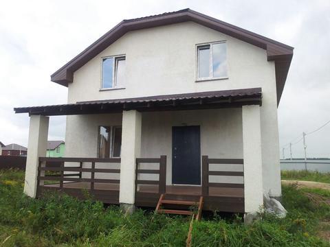 Продается новый дом под ключ 160м2 на участке 10 сот. Раменский район - Фото 1