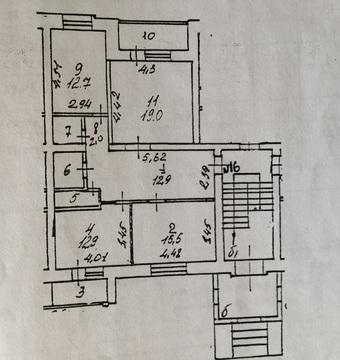 3-х комнатная квартира в центре Солнечногорска в зимнем доме - Фото 3