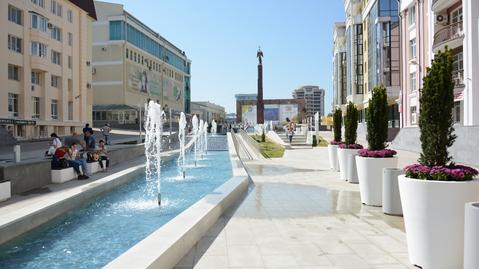 Центр города. 1-комн 93 кв.м. Аллея фонтанов - Фото 1