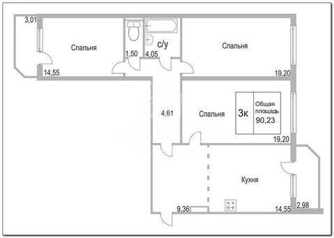 Продам 3-комн. квартиру, Плеханово, Кремлевская, 110к1 - Фото 4