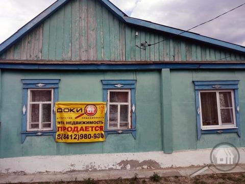 Продается часть дома с земельным участком, с. Богословка, ул. Суркова - Фото 1