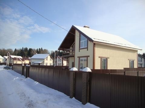 Продаётся новый коттедж 157 кв.м в пос. Подосинки - 35 км. от МКАД . - Фото 1