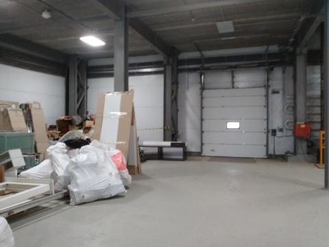 Отапливаемый склад 1100 кв.м,2 ворот - Фото 5