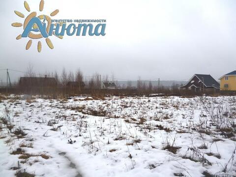 Продается участок 26 соток в заповеднике «Барсуки» деревне Тростье - Фото 5