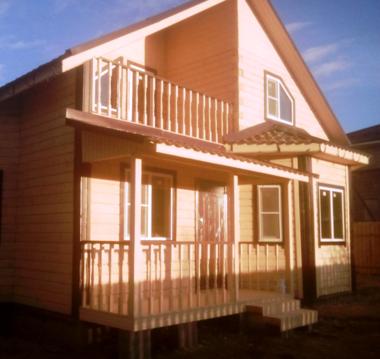 Продается двухэтажная дача, общ.пл. 140 кв.м. на участке 6.5 соток - Фото 1