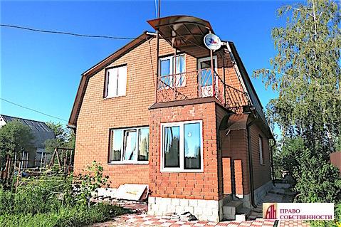 2-эт.кирпичный дом и 6 соток в СНТ Моторвагонник д.Литвиново Раменское - Фото 1