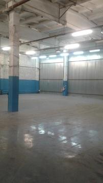 Сдаётся отапливаемое складское помещение 551 м2 - Фото 1