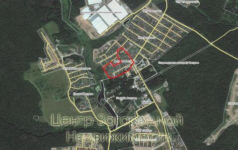 Участок, Калужское ш, 15 км от МКАД, Верхнее Валуево, деревня. Продам . - Фото 1