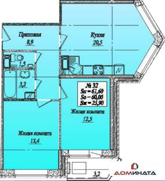 Продажа квартиры, Мурино, Всеволожский район, Всеволожский район - Фото 4