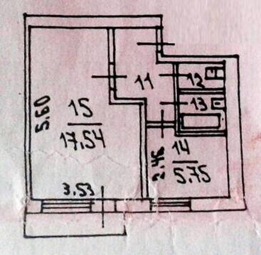 Однокомнатная квартира в кирпичном доме ул. Садовая - Фото 3