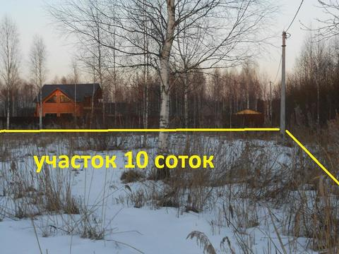 Продам участок 10 сот.в массиве Ухта, ст Мельничный ручей - Фото 4