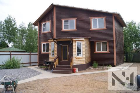 Двухэтажный дом 160 м2 из бруса на участке 6.7 соток - Фото 2