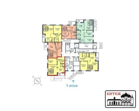 В продаже 2-комнатная квартира в номом 15-этажном доме ул. Фомушина - Фото 4