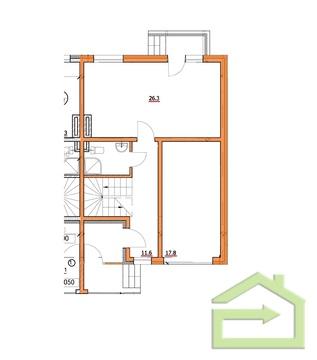 Квартира 124 квм с тремя спальнями в ЖК Прилесье - Фото 2