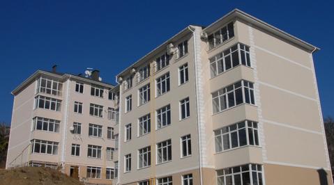 Просторная 2-комнатная квартира в новом доме, пгт.Массандра - Фото 5