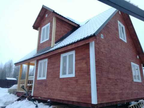 Продам дом 90кв.м. на 6сот в д.Алексеевка го Чехов МО в 49км от МКАД - Фото 1