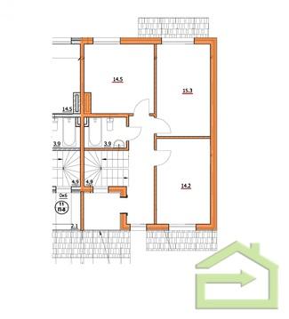 Квартира 124 квм с тремя спальнями в ЖК Прилесье - Фото 3