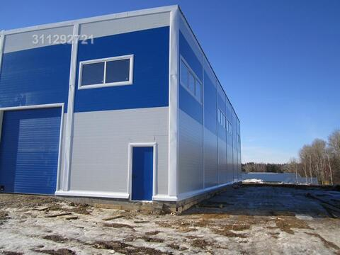 Сдается холодный склад в г. Видное. Конструкция - сборная. Общая площа - Фото 2