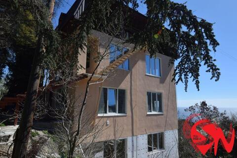 3-этажный дом площадью 280 кв.м. Планировка: цоколь, два жилых эта - Фото 1