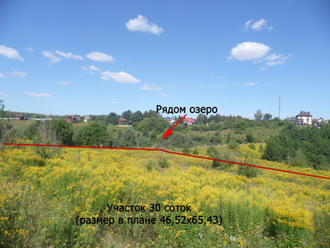 Продам участок 30 соток в д. Кондырева (район Мезенки, 4 км от Орла) - Фото 3