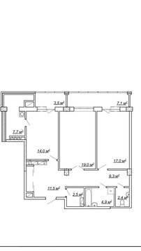 Купить видовую квартиру в доме бизнес класса - Фото 4