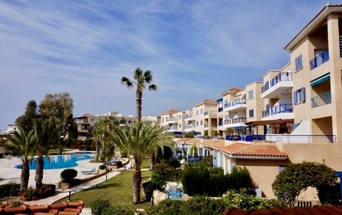Прекрасный трехкомнатный Апартамент с видом и в 300м от моря в Пафосе - Фото 5